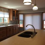 Brad and Ruth Walch Kitchen Remodel. Granite black granite undermount sink