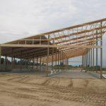 Chapin farms milk barn. Constrcution done by Jeff Storey Builders