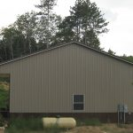 Luke and Summer Sellers pole barn. Construction done by Battle Construction