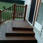 Mike and Beth Simon Beautiful new steps and railing.